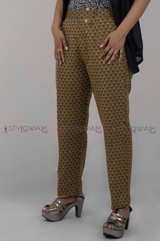 Brocade Pant -skin- Stylowalk.com